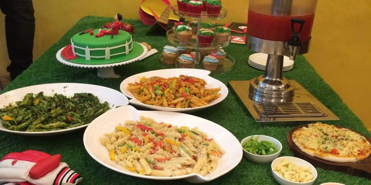 The colorful spread of dishes from Cookifi