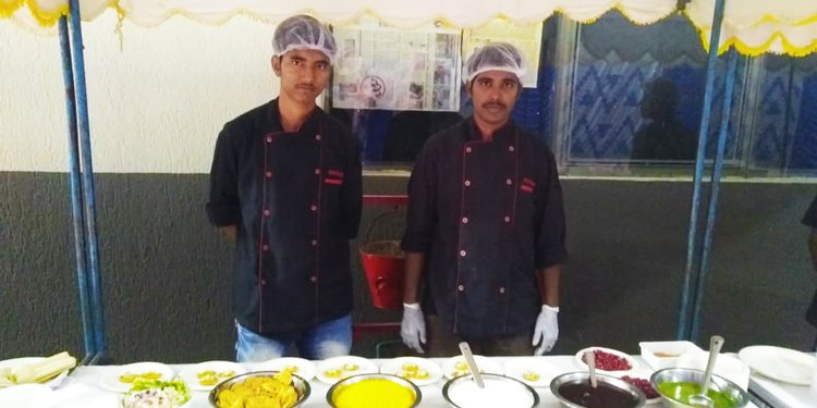 Chaat Live Counter