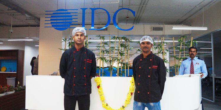 Cook at IDC