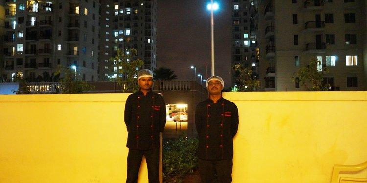 Cooks At venue