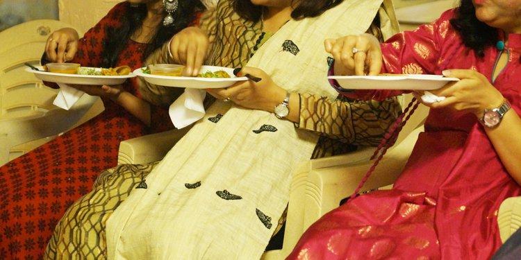 Guests enjoying Cookifi Food