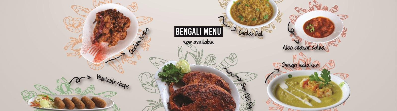 Bengali menu now available